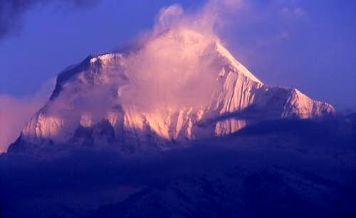 Early morning Dhaulagiri from...