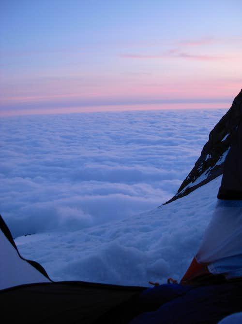 High Camp Sunset View