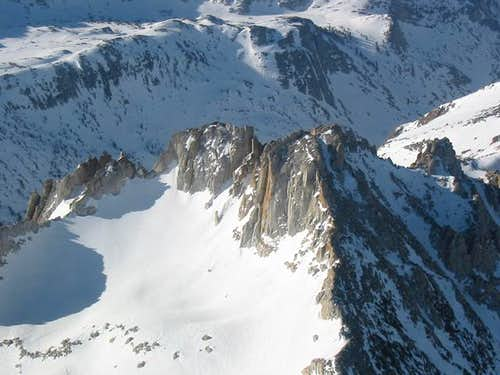 Tower Peak from the north,...