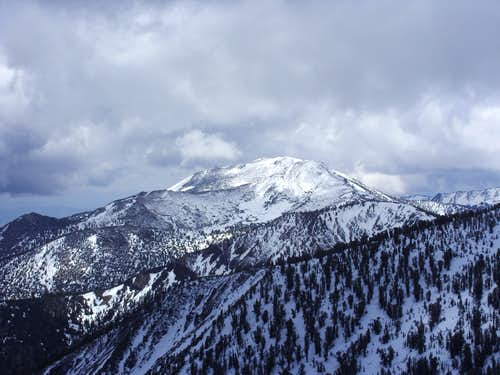 Mount Rose from Snowflower Mountain