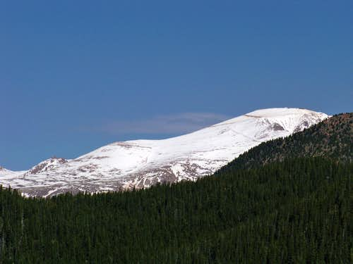 Pikes Peak from Mount Big Chief