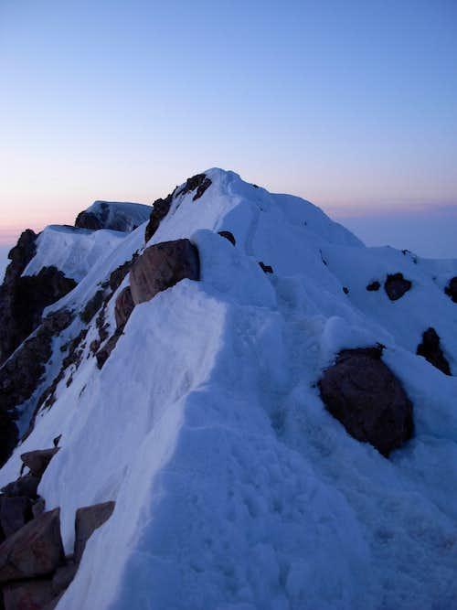Mount Hood Upper Ridge