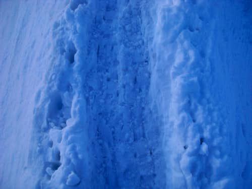 Mount Hood Knife Edge