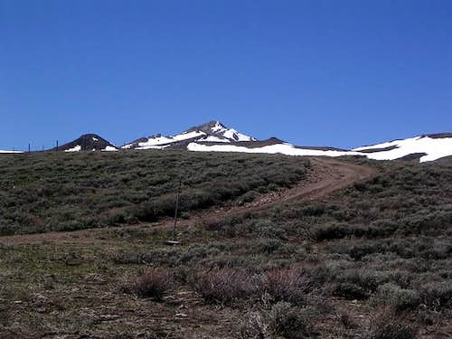 Granite Peak as seen from...