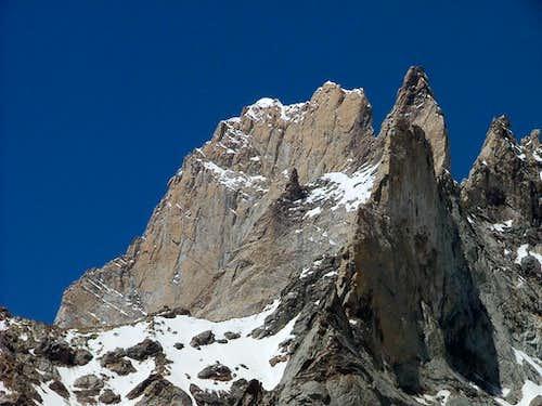 Rock Towers at Hisper Glacier