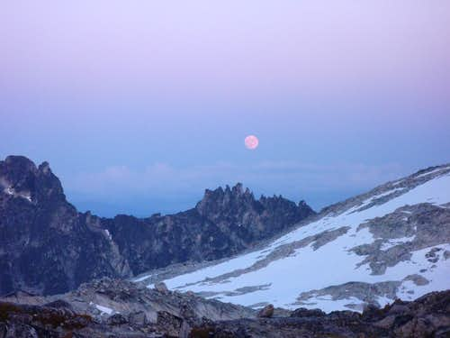 Moonrise from Aasgard Pass