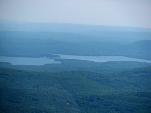 Hudson River from Overlook fire tower