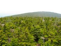 View Northeast to Stratton Ski Area