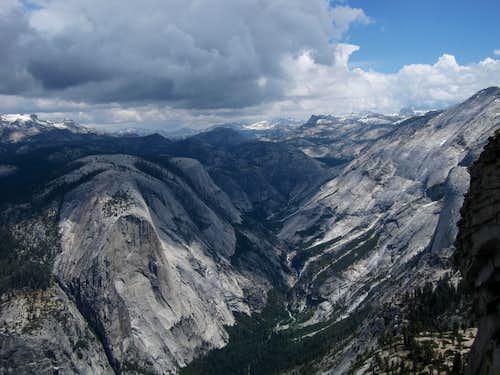 Up Tenaya Canyon