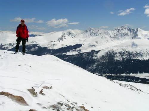 Colonalpyat on the summit of...