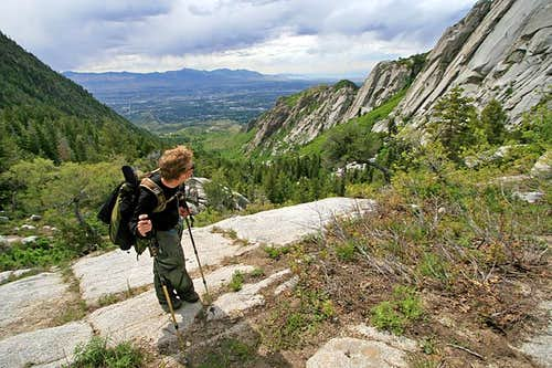 The Hypodermic Needle of the Wasatch (Photo Trip Report)
