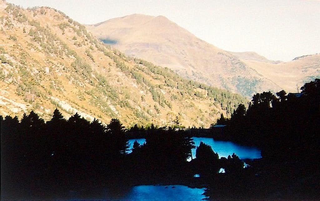 Lake of Montcasau, on the way to Port de Caldes