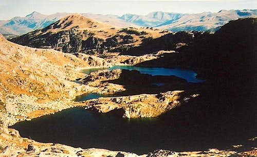 Lakes of Ribereta, on the way to Port de Caldes