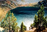 Lake of Sasloses, on the <a href= http://www.summitpost.org/view_object.php?object_id=519895 >N-E route to the Montardo</a>