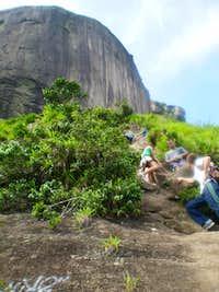 Ascending the Carrasqueira