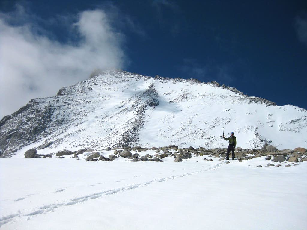 North Rib w/snow