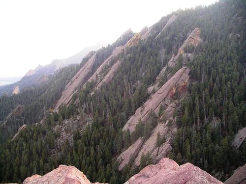 Fourth and Fifth Flatirons