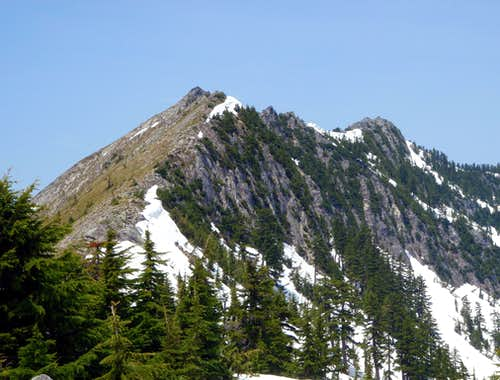 Putrid Pete\'s Peak and Web Mountain