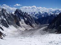 Mountains Arround Biafo Gung