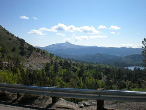 Hawkins Peak from Highway 88