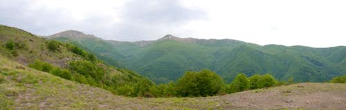 Appennino main ridge
