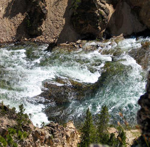 Yellowstone Grand Canyon - Turbulent Waters