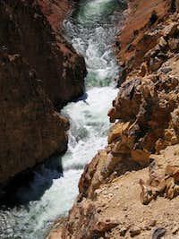 Grand Canyon of the Yellowstone - Turbulent Waters