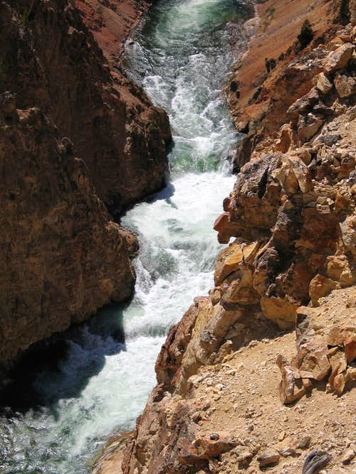 Grand Canyon of the Yellowstone - Turbulent Waters