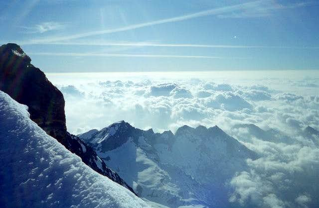 View from Monte Rosa Groupe...