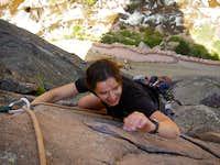 Bastille crack, Eldorado canyon, Boulder, Colorado