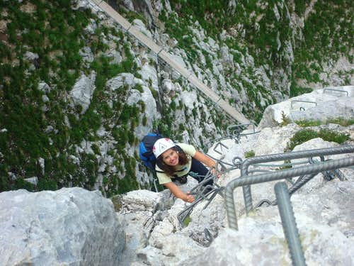 Via Ferrata de la tour du Jalouvre, France