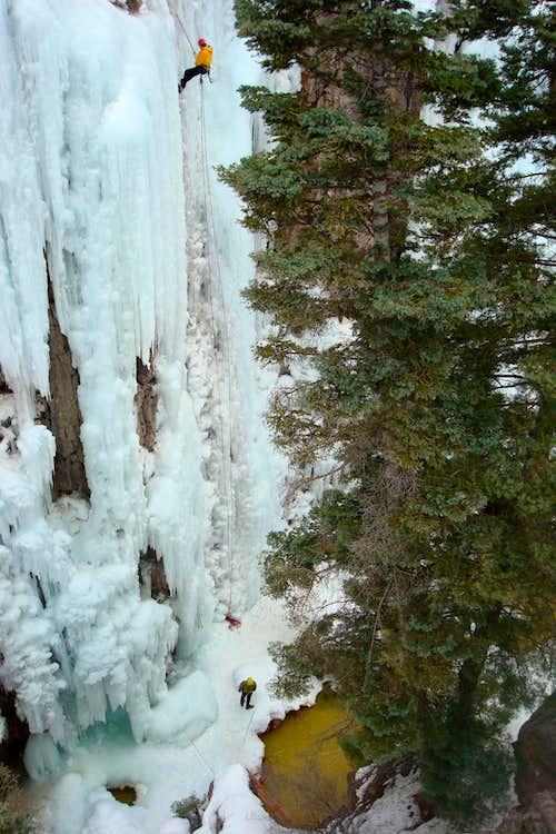 Ouray Ice Climbing Park, Colorado