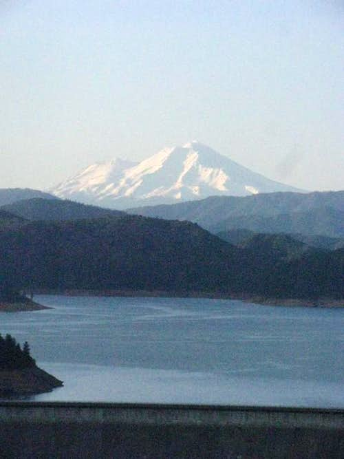 Mount Shasta from Lake Shasta