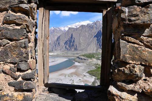 Kharphocho Fort  Skardu Baltistan, Pakistan