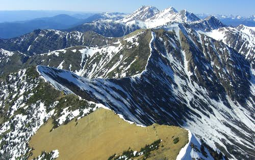 Mount Grant and Great Northern Mountain