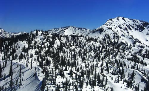 Birch Point and Squaw Ridge