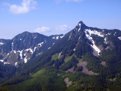 Mount Kent and McClellan Butte