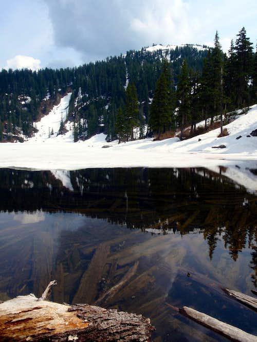 Ice on Mason Lake
