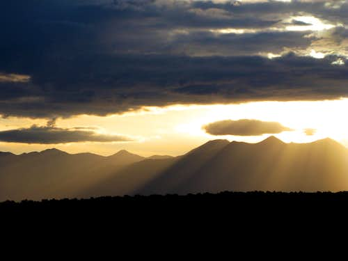 La Sal Mountains Sunrise