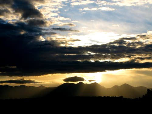 La Sal Mountians Sunrise