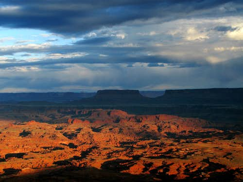 Sunrise over Canyonlands National Park