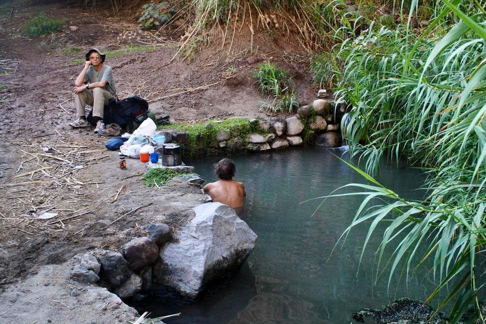 Relaxing at El Niño