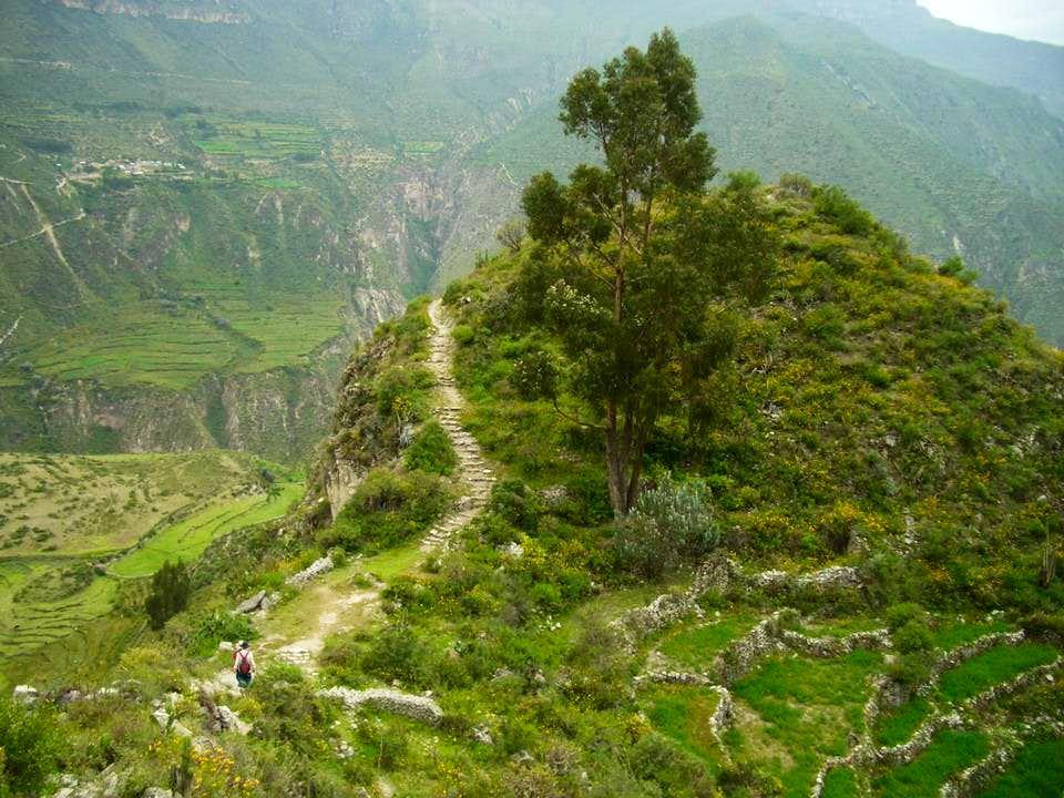 Trail To Uskuni Falls