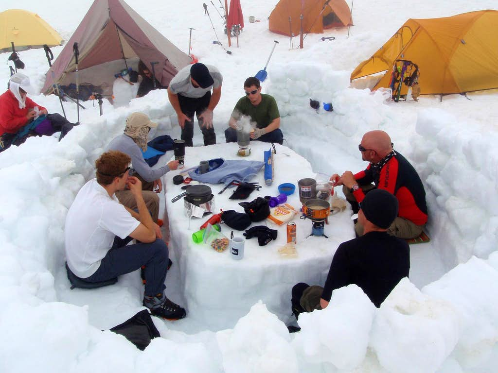 A Mountaineers Kitchen
