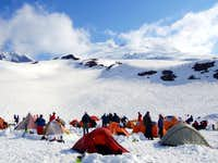 Easton Glacier Camp