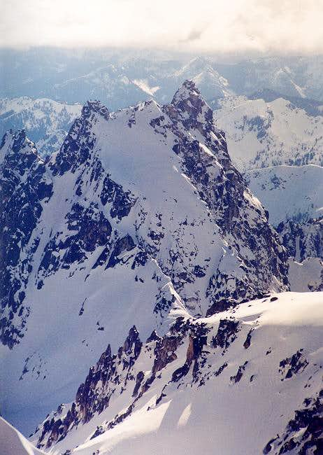 Argonaut Peak as viewed from...
