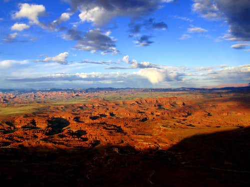 Sunrise on Canyonlands National Park
