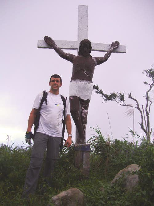 On the summit of Mt. Malipunyo