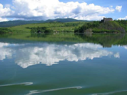 Czorsztynskie Lake and Gorce