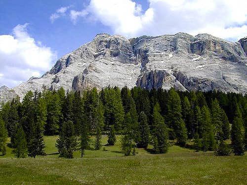 Sas da les Diisc from Val Badia